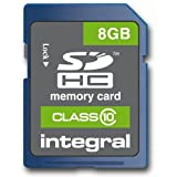 Integral 8GB UltimaPro Class 10 SDHC Card