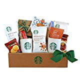 California Delicious Classic Starbucks Coffee and Cocoa Gift, 4 Pound