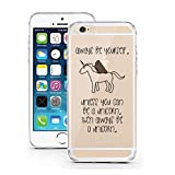 licaso® iPhone 6 TPU Hülle Disney Allways be a Unicorn