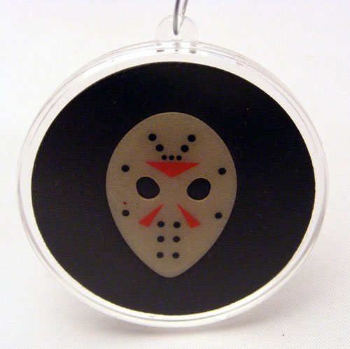 Friday The 13th Jason Mask Guitar Pick Ornament