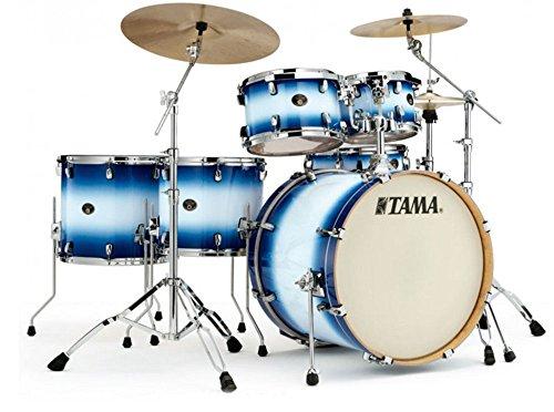 Tama-VP62RS-JTB-Silverstar-Drum-Kit-Shell-Pack-Jet-Blue-Burst