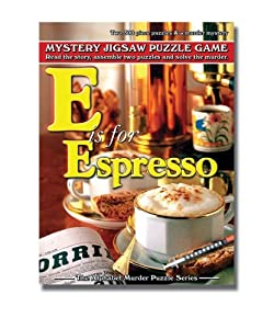 Alphabet Mystery Puzzle - E Is For Espresso