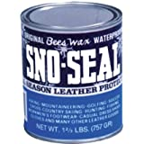 Atsko Sno-Seal Original Beeswax Waterproofing (1-Quart Can)