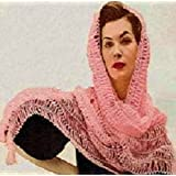 Crochet Pattern: GOLD COAST HAIRPIN LACE SHAWL - Downloadable vintage 1950's crochet pattern . Text-to-Speech enabled. Available for Download to Kindle ... crocheting, diy, clothing, clothes) ~ Northern Lights Vintage