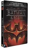 Batman & Robin - Combo Blu-Ray + DVD - Steelbook format Blu-Ray - Collection DC COMICS [Blu-ray] [Combo Blu-ray + DVD - Édition boîtier SteelBook]