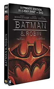 Batman & Robin - Combo Blu-Ray + DVD - Steelbook format Blu-Ray - Collection DC COMICS [Blu-ray] [Combo Blu-ray + DVD - Édition boîtier SteelBook]
