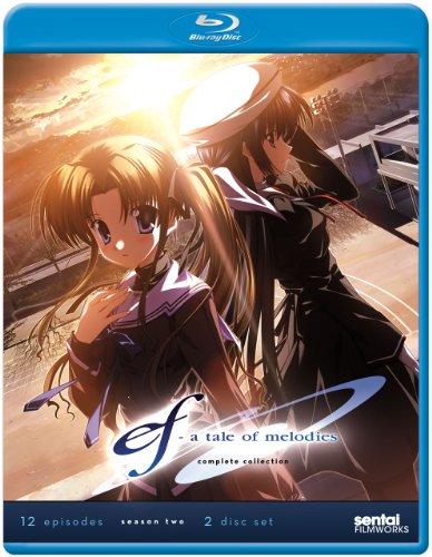 【BD-BOX】 ef a tale of melodies (第2期) Complete Collection Blu-ray BOX (PS3再生・日本語音声可) (北米版)(全12話)[Import]