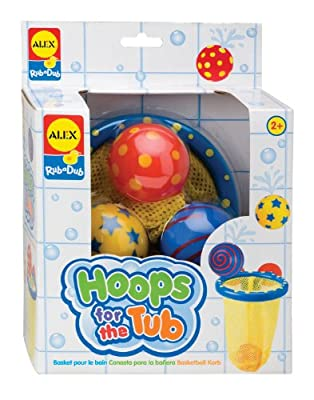 ALEX Toys - Bathtime Fun, Hoops for the Tub, 694 from Alex Panline