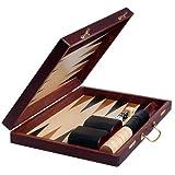 51AxIKzrDhL. SL160  Wooden Backgammon Game Set 15