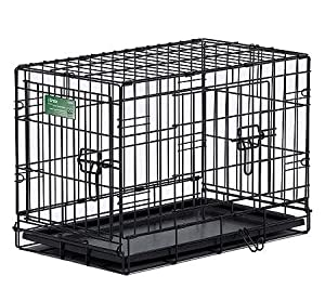 Double Door I-Dog Crate- Small by Pet Stores USA