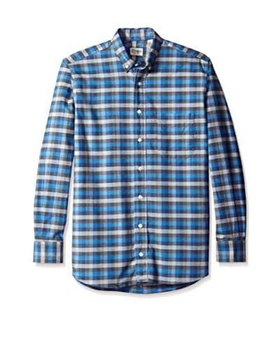 Gitman Bros. Men's Check Button Down Sport Shirt