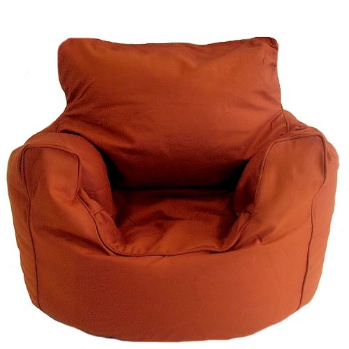 Get Terracotta Cotton Bean Bag Arm Chair with Beans