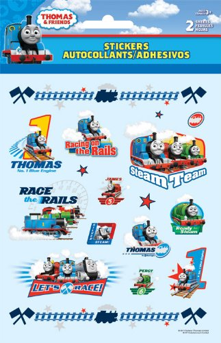 Thomas the Tank Foldover Stickers - 1