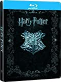 HARRY POTTER COLLECTION Limited edition JUMBO BLU RAY STEELBOOK English (Import)