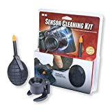 Carson Sensor Cleaning Kit - 4.5 x 30mm, Black