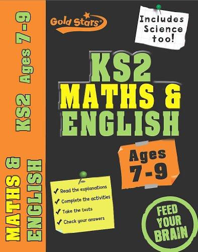Gold Stars Bindup Workbook: KS2 Maths, English, 7-9