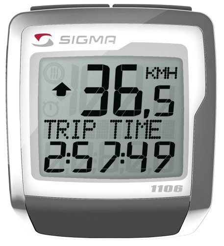 SIGMA BC1106 11-function Topline Wired Bicycle Speedometer