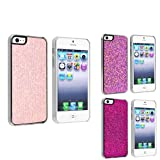 eForCity 3 packs of Snap-on Hard plastic Cases : Light Pink Bling / Purple Bling / Hot Pink Bling Compatible with Apple iPhone 5 Reviews