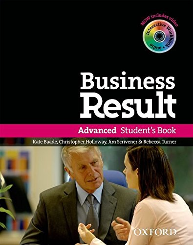 Business Result: Advanced: Student's Book with DVD-ROM and Online Workbook Pack (Advanced Result Workbook compare prices)