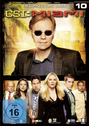 CSI: Miami - Season 10: The Final Season [6 DVDs]