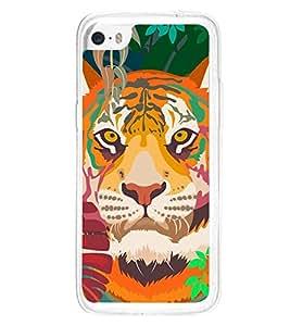 Lion 2D Hard Polycarbonate Designer Back Case Cover for Apple iPhone 5C
