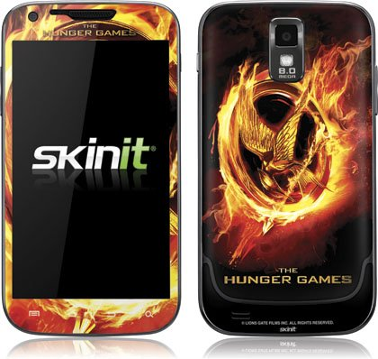 Skinit The Hunger Games Logo Vinyl Skin for Samsung Galaxy S II - T-Mobile