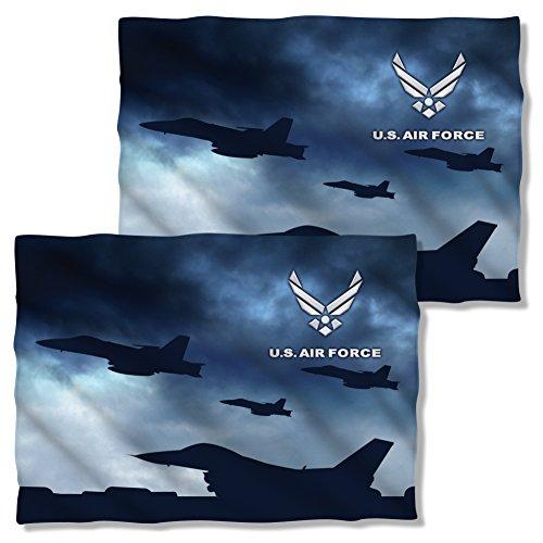 Front & Back Pillow Case: Take Off U.S. Air Force AF118FBPLO