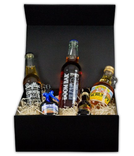 Cornish Alchohol Taster in Gift Box