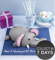 Edward the Elephant Cake