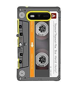 EPICCASE Audio Cassete Mobile Back Case Cover For Nokia Lumia 820 (Designer Case)