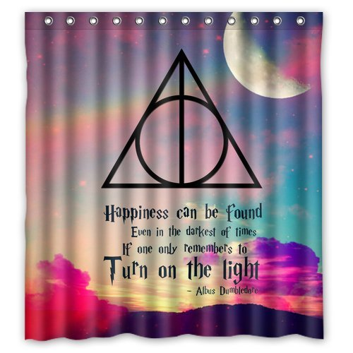 Harry Potter Custom Shower Curtain