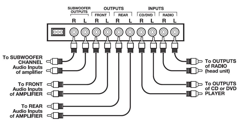 B000O50VEQ on 5 1 Car Amplifier Wiring Diagram
