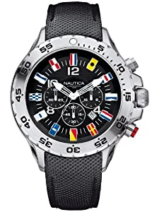 NAUTICA NST Chrono flag A24520G 48 mm 10 ATM