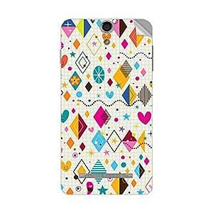 Garmor Designer Mobile Skin Sticker For XOLO PLAY 8X 1100 - Mobile Sticker