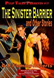 img - for The Sinister Barrier and Other Stories book / textbook / text book