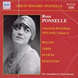 img - for AMERICAN Recordings 1923-2929 VOL.4 by ROSA PONSELLE [Korean Imported] (2007) book / textbook / text book