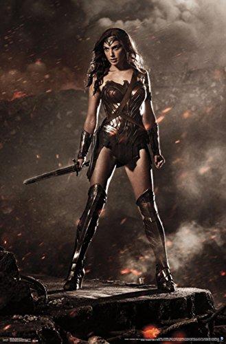 "Batman vs Superman, Wonder Woman, 22"" x 34"", Wall Poster"