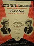 img - for Lester Flatt and Earl Scruggs With the Foggy Mountain Boys: Folk Music With An Overdrive book / textbook / text book
