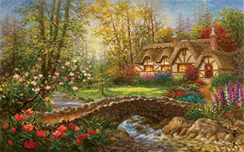 Country Home a 300-Piece Jigsaw Puzzle by Sunsout Inc.