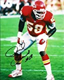 DERRICK THOMAS SIGNED PHOTO 8X10 RP AUTOGRAPHED KANSAS CITY CHIEFS at Amazon.com