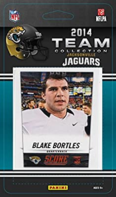 Jacksonville Jaguars 2014 Score NFL Football Factory Sealed 13 Card Team Set with Chad Henne, Blake Bortles Plus