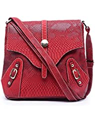 Caprese Women's Amy Sling Bag (Red)