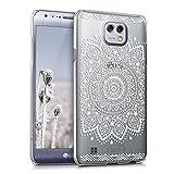 kwmobile Crystal Case Hülle für LG X Cam mit Blume Design