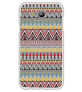 ifasho Animated Pattern colrful tribal design Back Case Cover for Samsung J7
