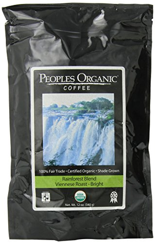 People'S Organic Ground Coffee, Rainforest Blend, 12 Ounce