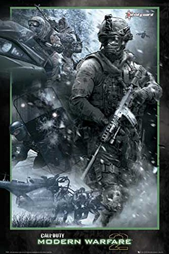 Poster Call of Duty MW2 - Collage + accessori Ü-Poster der Grösse 61x91,5 cm