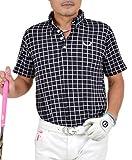 【コモンゴルフ】 COMON GOLF ストレッチ ワッフル素材 ゴルフ ポロシャツ CG-SP541