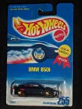 #255 BMW 850i Metal Flake Dark Blue Lace/Gold Wheels Collectible Collector Car Mattel Hot Wheels