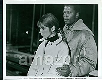 "Vintage Photo of JOANNA SHIMKUS, SIDNEY POITIER ""The Lost"