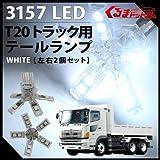 T20 5アーム スパイダー LEDテールランプ 白 24V